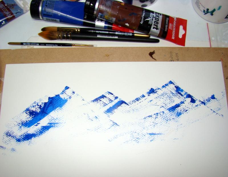 tynner til akrylmaling kunst