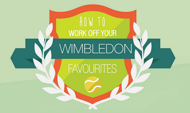 How to Work off your favourite Wimbledon Treats