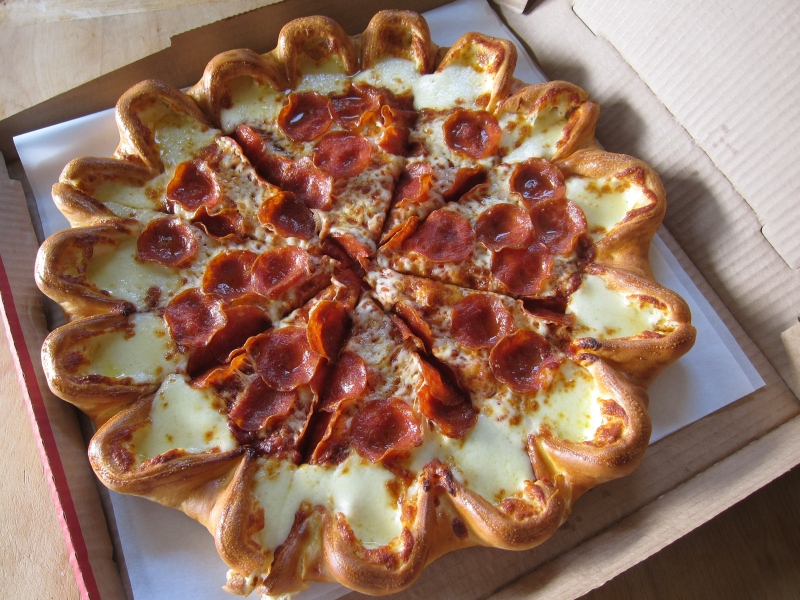 crazzy pizza