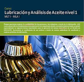 Curso Abierto Lubricación y Análisis de Aceite nivel 1 MLT I - MLA I 2020
