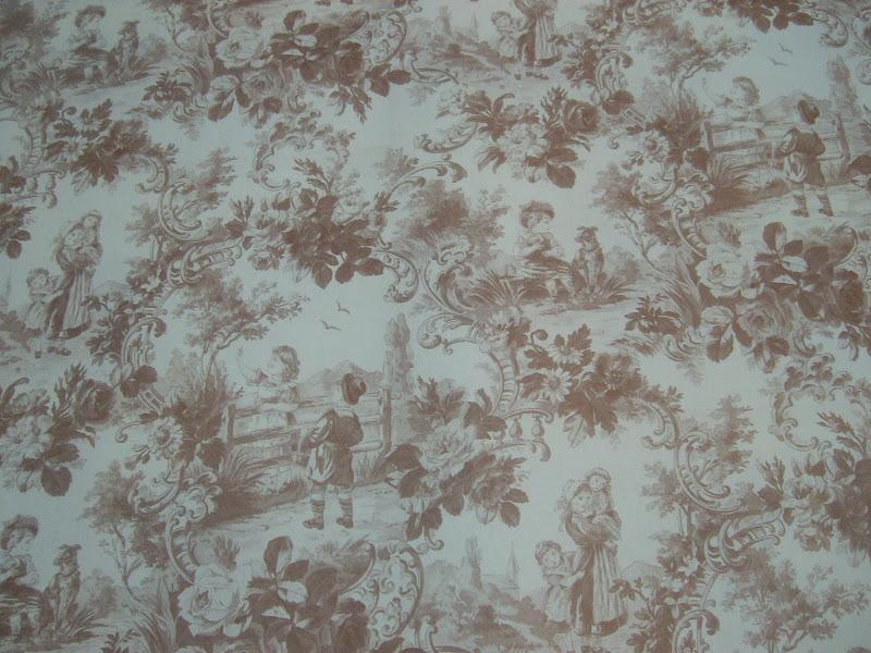 Papeles servilletas y telas de tere papel toile de jouy 09 - Papeles y telas ...