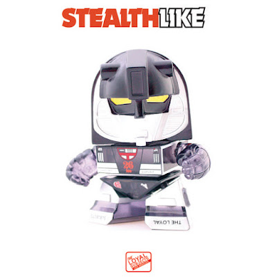 "San Diego Comic-Con 2015 Exclusive Transformers ""Stealth"" Mirage Translucent Black 3"" Mini Figure by The Loyal Subjects"