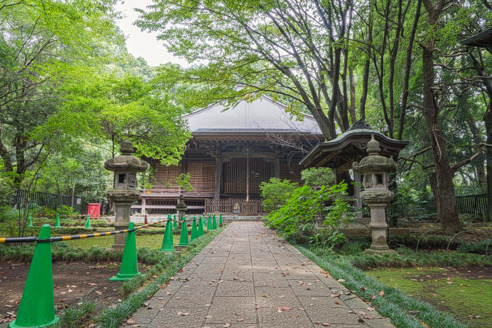 武蔵国分寺薬師堂の写真