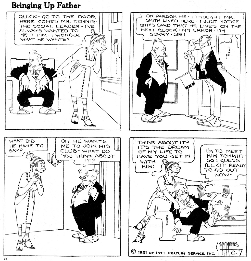 Opinion you Jiggs and maggie comic strip