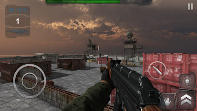 Trigger Fist FPS v1.3 Mod Apk Unlimited Ammo + HP Terbaru 2016