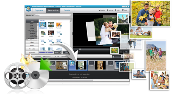 Wondershare dvd slideshow builder deluxe 6.1.12