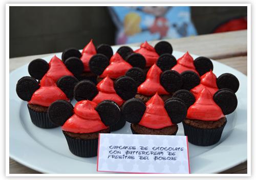 Cupcakes a diario: La Mickey Mouse candy bar y mi extrema felicidad...