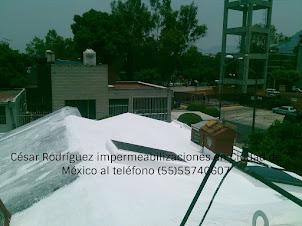 impermeabilización de losas de azotea