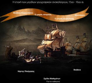 Η εποχή των μεγάλων γεωγραφικών ανακαλύψεων