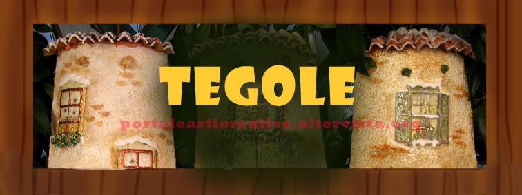 Pin tegole legno vetro terracotta ceramica classiche - Tegole decorate in rilievo ...