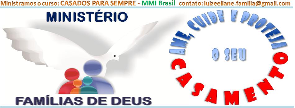 Ministério: FAMÍLIAS DE DEUS