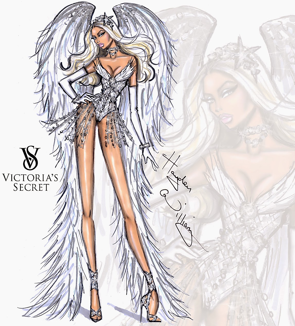 Hayden Williams Fashion Illustrations Victoria 39 S Secret 2014 Collection By Hayden Williams