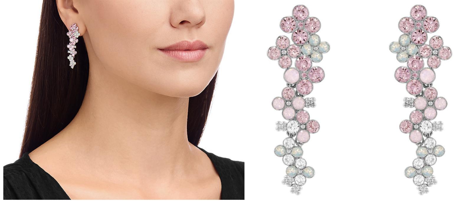 swarovski orecchini collezione 2015 swarovski pendenti