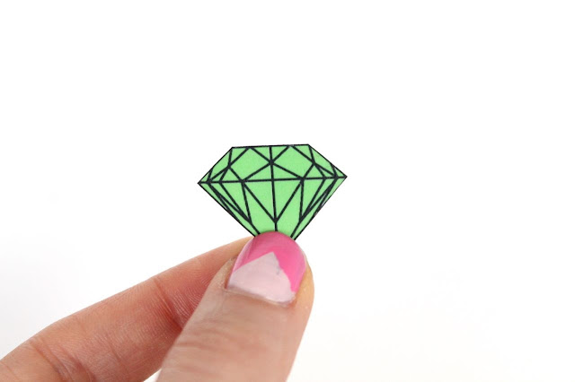 diamond shrinky dink diy