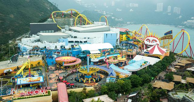حديقة المحيط في هونغ كونغ