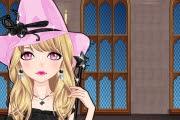 Pembe Cadı Makyajı Oyunu