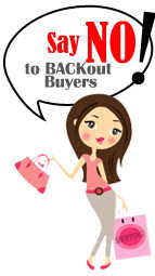 SAY NO To BACKout Buyers