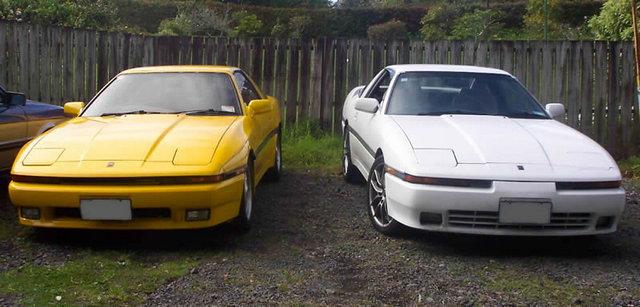 Toyota Supra, MK3, MA70, GA70, JZA70, japoński sportowy samochód, coupe, RWD, R6, lata 80, 90, widebody, narrowbody