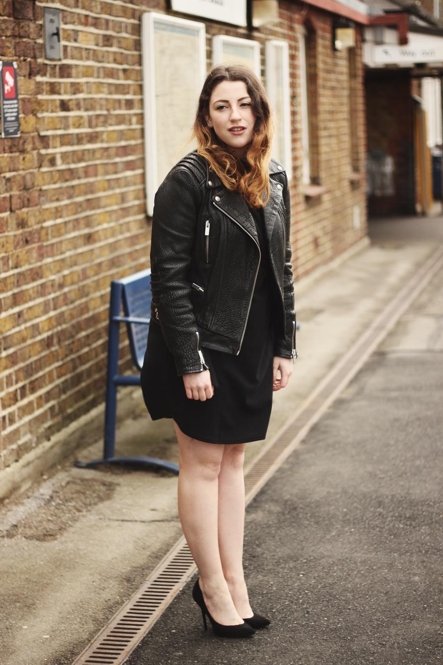 Leather jacket boohoo - Asymmetric Heels C O Boohoo Midi Ring Set Worn On My Actual Fingers As I Have Child Hands C O Boohoo The Kooples Leather Jacket