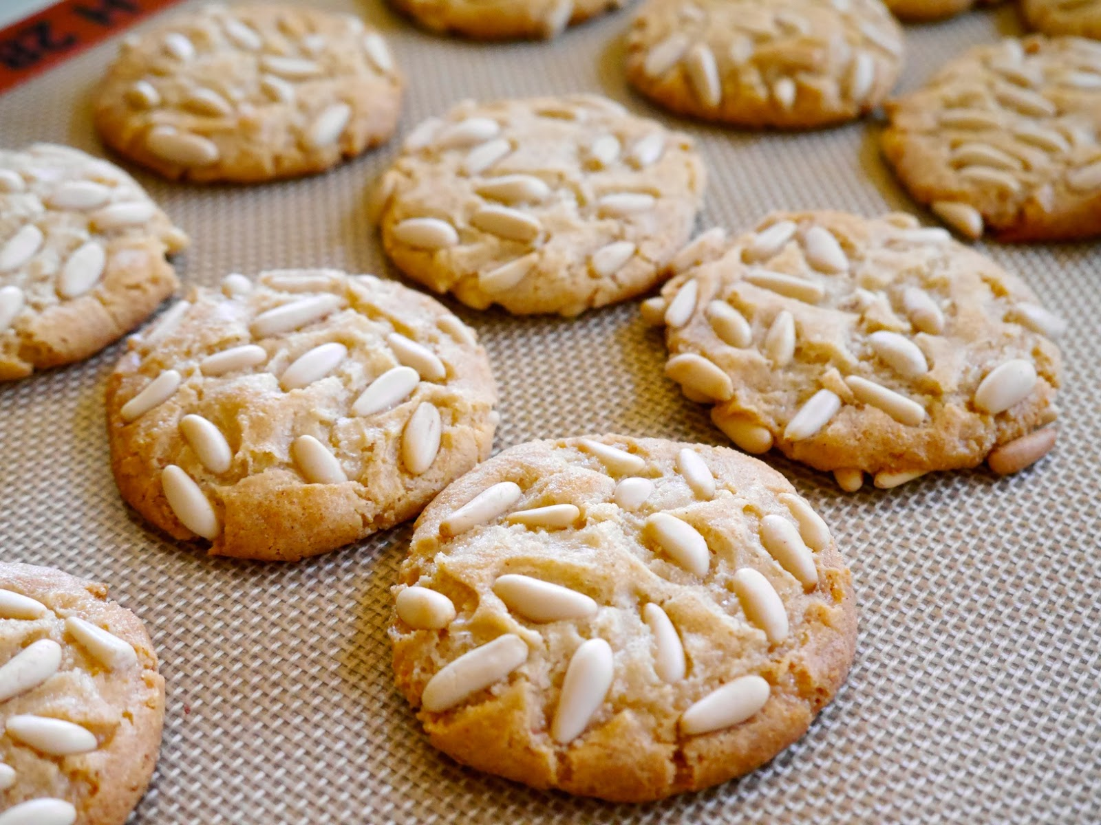 Foods For Long Life: Vegan Italian Pignoli CookiesAlmond Paste - Great ...