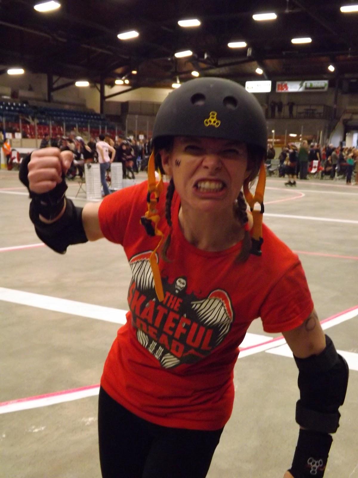 Roller skates kingston - My Favourite Kingston Roller Derby Girl