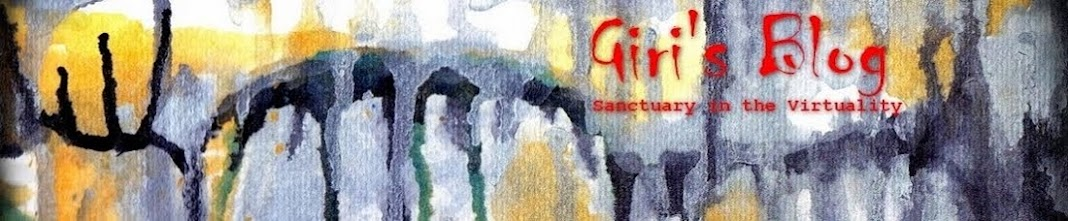Giri's Blog - Sanctuary in the Virtuality