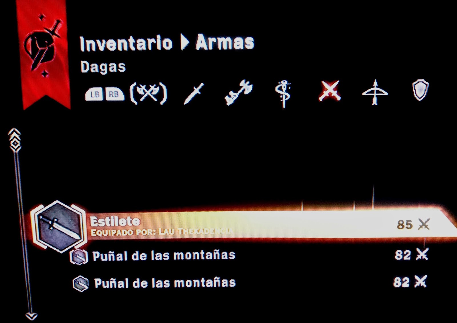 demo dragon age inquisition inventario armas
