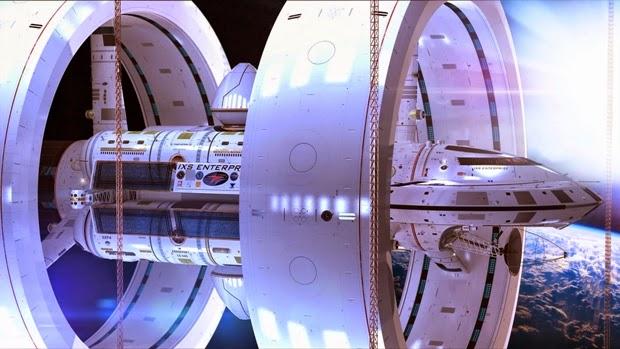 NASA Rancang Pesawat Antariksa IXS Enterprise dengan Warp Drive