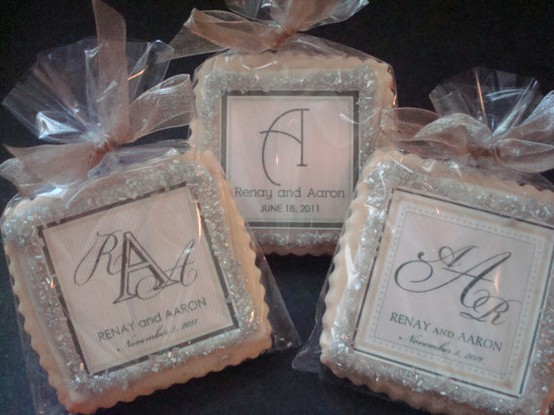 Wedding Cookies | Liane McCombs Wedding & Event Planning