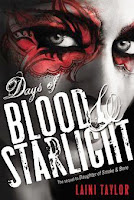bookcover of DAYS OF BLOOD AND STARLIGHT by Laini Taylor