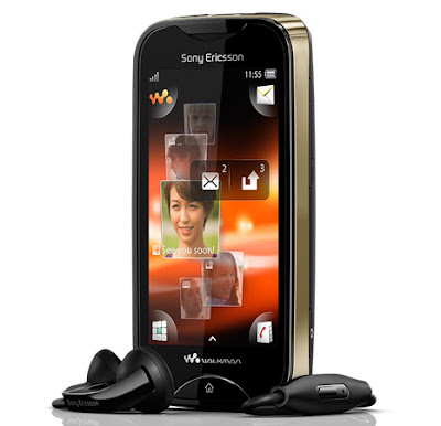 Spec For Sony Ericsson Live with Walkman Manual User Guide WT19i