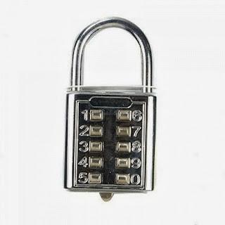 gembok, password