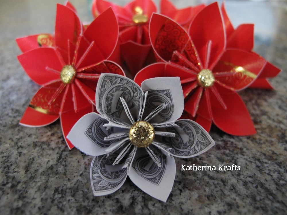Katherina Krafts Chinese New Year Red Envelope And Money Origami