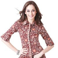 Blouse Rodeo motif Batik
