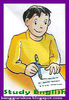 study english, write letter, writing, kagguru, sdii al-abidin