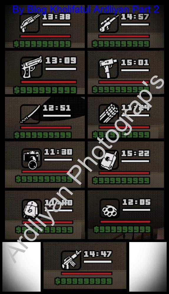 mission sudah semua 2 ru mah sudah di beli semua 3 senjatanya level ...