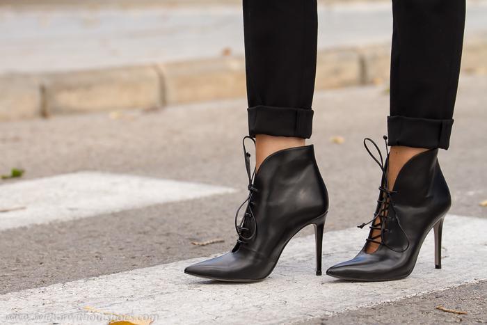 blogger adicta a los zapatos con calzado de lujo calidad hecho en España Magrit