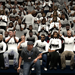 NBA 2K14 Miami Heat Playoffs Crowd Mod