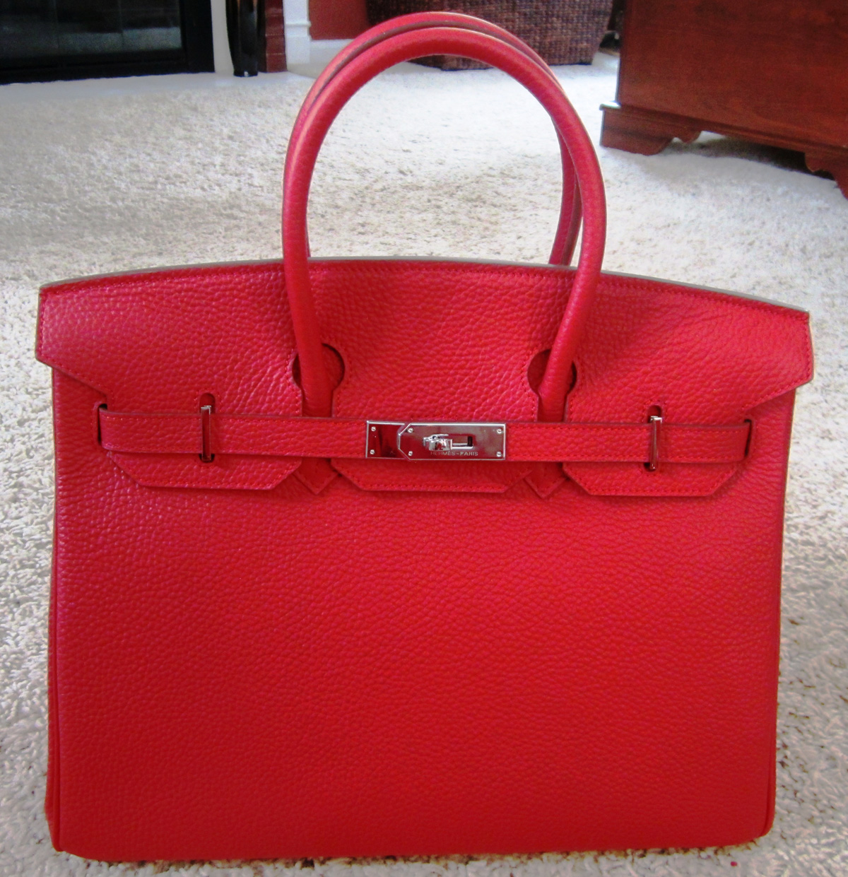 hermes wallet price - Purse Princess: Michelle's Replica Red Hermes Birkin 35