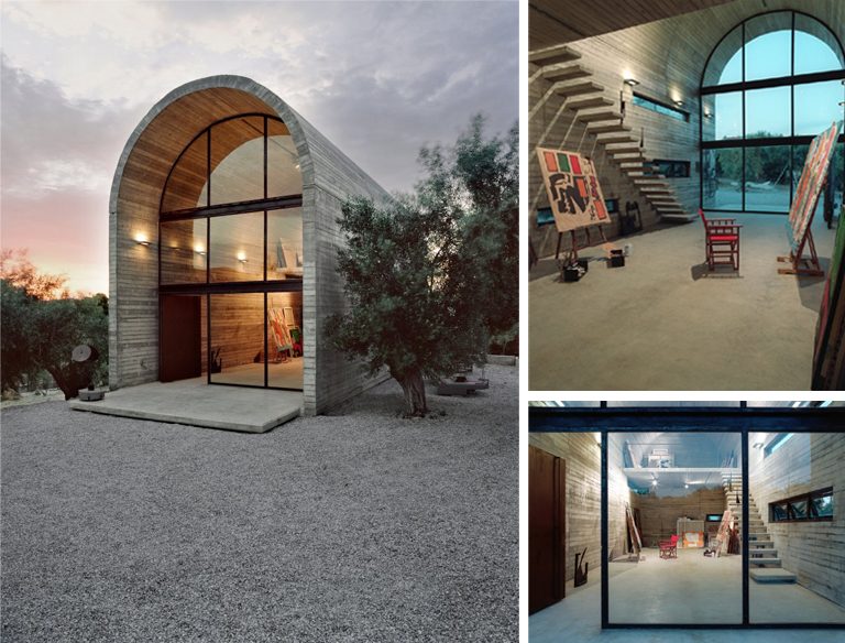 Delightful From The Tiny To The Giant But Equally Lovely, Art Warehouse In Boeotia By A31  Architecture. All I Want To Say Is One Day This Will Be Mine, Oh Yes, ...