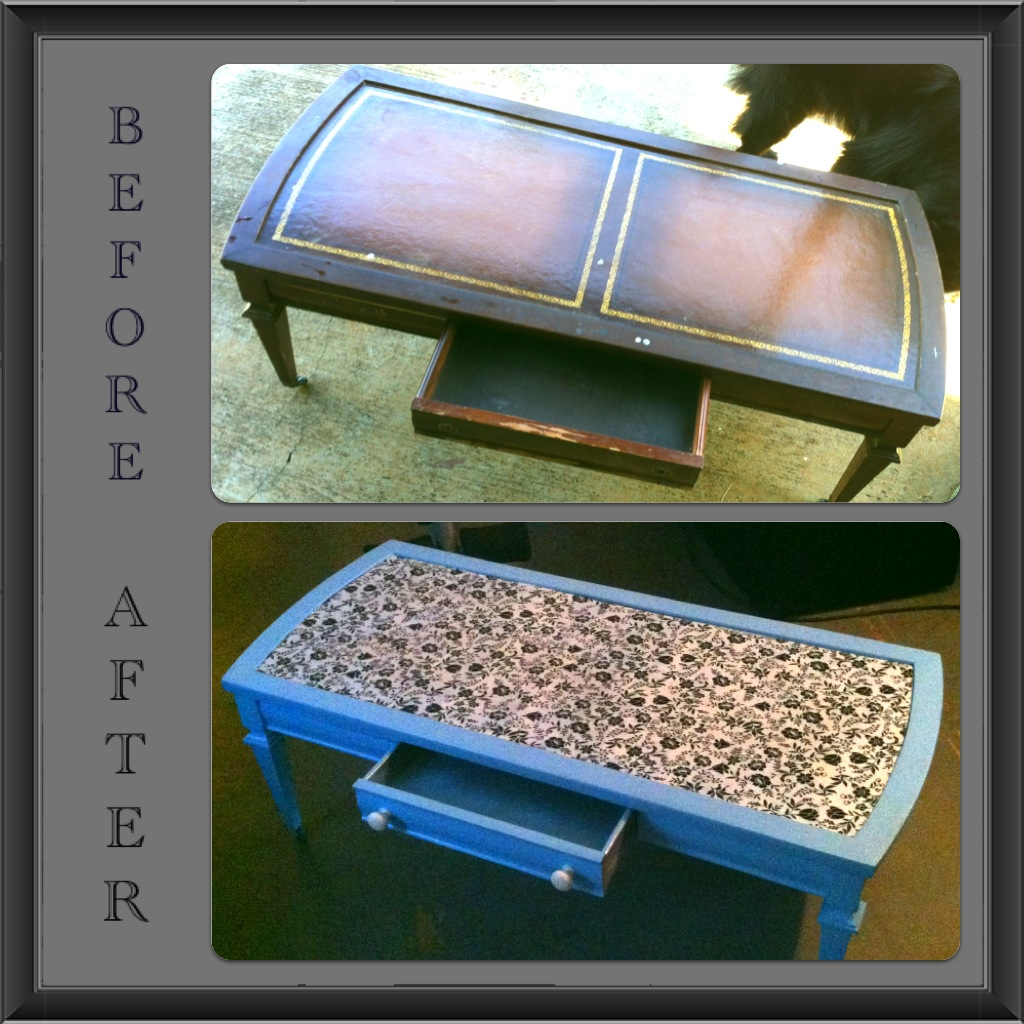 Crafty carrs living room redo coffee table for Redo table top ideas