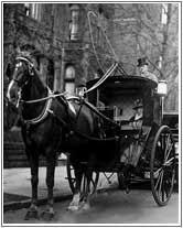 Taxi cab 19th century