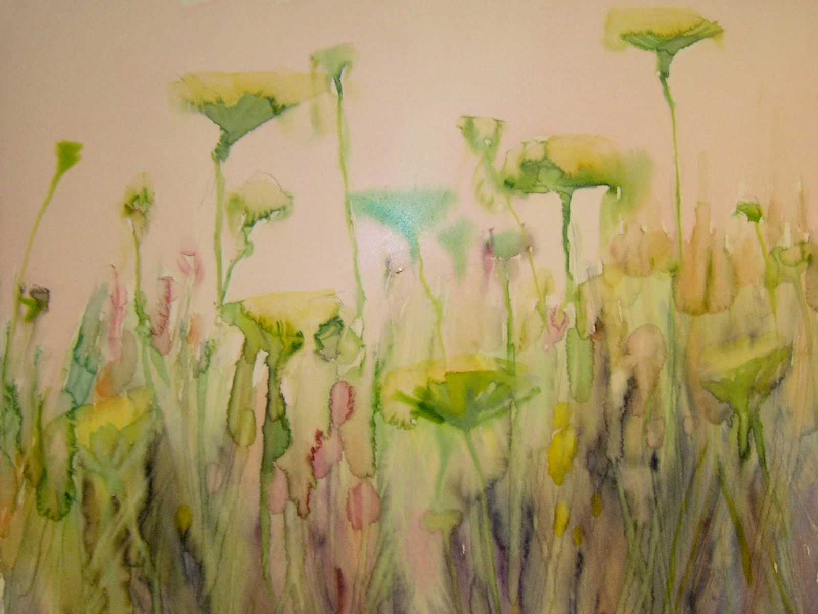 Painting My World What You Need To Know About Watercolor Underpaintings For Pastel A Mini Demo