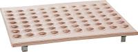 Gratar pentru clatite olandeze, realizat cupru solid, pentru 70 clatite Olandeze,  adecvat pentru toate modelele de Gratare Electrice 650x520 mm