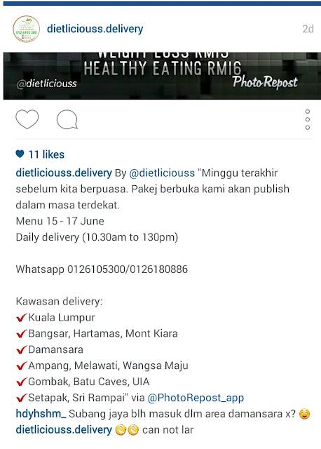 dietliciouss, menu ramadhan, diet, leamustafa.com, diet malaysia, jom diet, bulan puasa,
