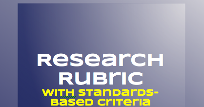 grading research papers Research paper grading rubric name: course: date: (the psychology department at san josé state university is acknowledged for the basic structure of this form) category unacceptable (below standards) acceptable (meets standards) good (occasionally exceeds) excellent (exceeds standards) score.