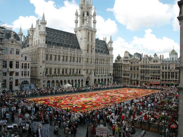 Top 10 Bruxelas: (1) Grand Place