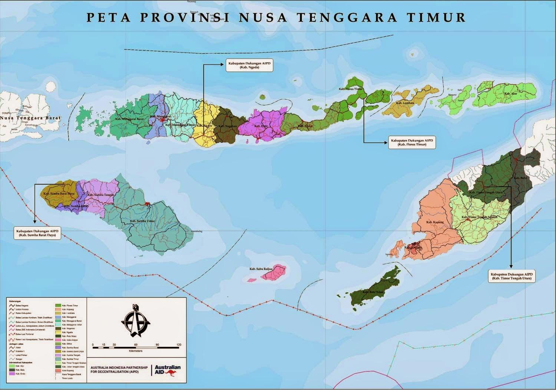 generasi muda nusa tenggara timur peta ntt