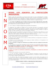 SOBRE LOS EQUIPOS DE PROTECCIÓN INDIVIDUAL