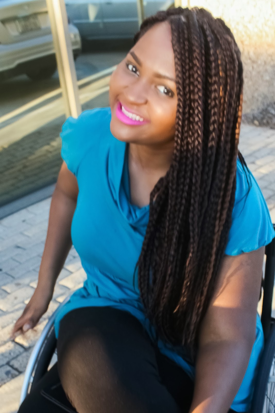 The Do It Yourself Lady Diy Box Braids I Did With Xpression